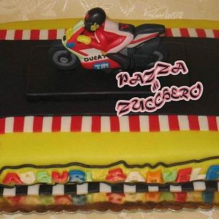 Valentino Rossi - Cake by Elisa Di Franco