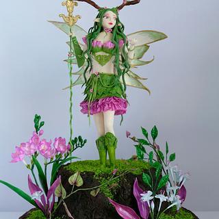 Alven ( Messenger Fairies )  - Cake by Nana Rose Cake