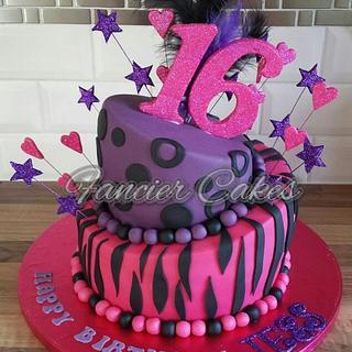 Topsy Turvy - Cake by Fancier Cakes