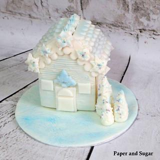 Winter Wonderland Cookie House
