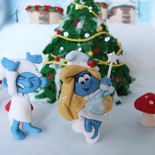 Have a smurfy Christmas grouchy