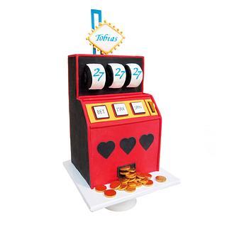 Slot Machine || 27th Birthday Cake - Cake by Sugarlips Cakes