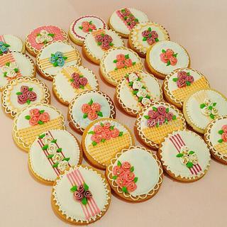 Intricate cookies