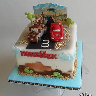 Cars cake - Cake by Jitkap