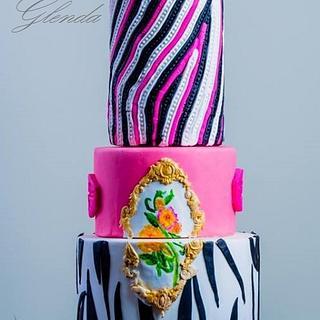 Mona Lisa - Cake by cakeyluv
