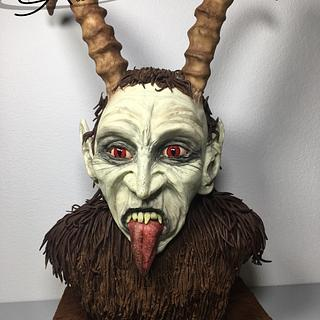 Krampus Bustcake for Sugar Myths and Fantasie Collaboration