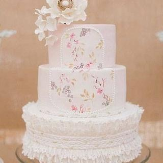 Baby Liesl welcoming party cake