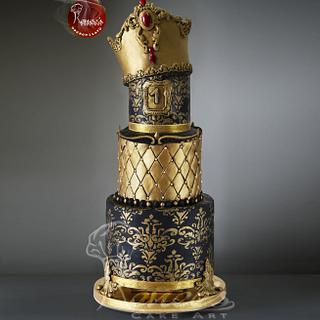 Prince/ Royal Themed Cake by Purbaja B Chakraborty