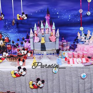 PDCA DESSERT TABLE COLLABORATION- DISNEYLAND