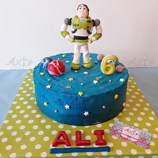 Buzz lightyear toy story cake