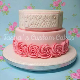A Pretty Pink Princess cake