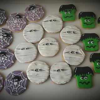 Halloween cookies - Cake by AngelaMa Le Torte