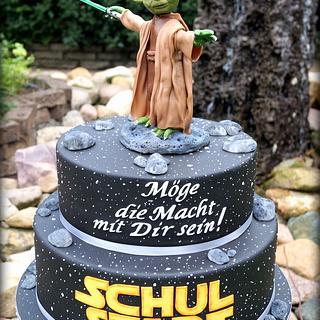 Star Wars Cake 1st day of school