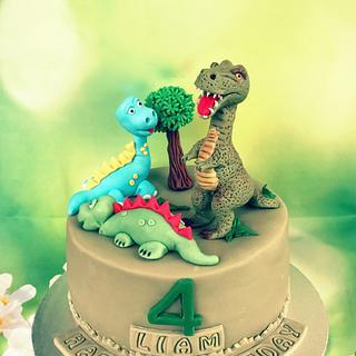 Dinosaur Cake  - Cake by Dina's Tortenwelt