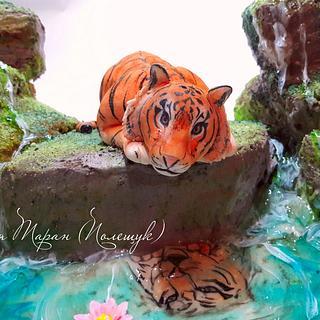 cake tiger - Cake by Julia Taran