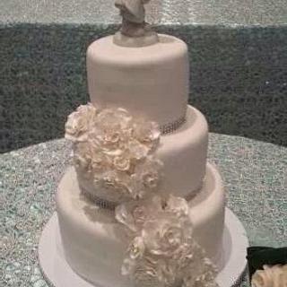 White Wedding cake - Cake by Vilma