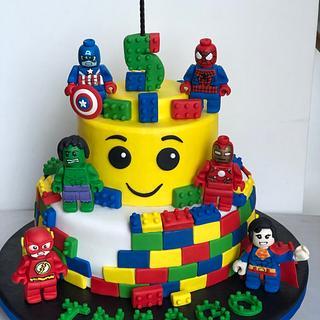 Superhéroes Lego