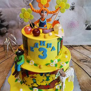 Pippi Longstocking - Cake by Galito