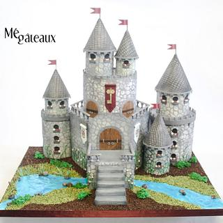 castle cake