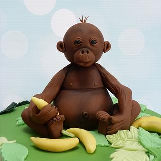 Orangutan - Cake by Carol