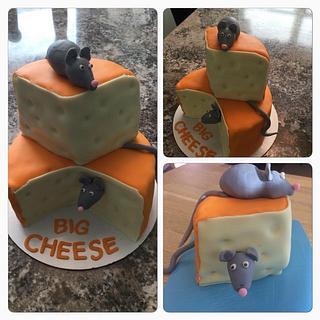 Big Cheese - Cake by Daria