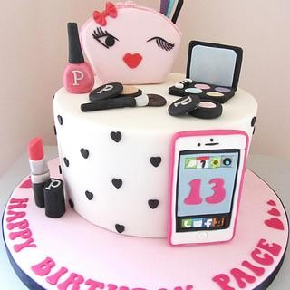 Make up & Phone Cake