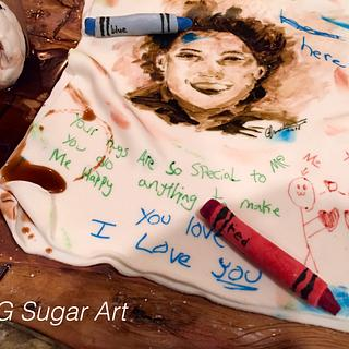 Happy Mother' s Day  - Cake by G Sugar Art