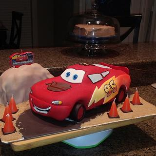 Cars 3  - Cake by sapmcdowell