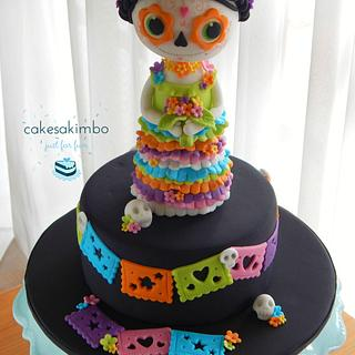 SUGAR SKULL BAKERS 2016 - Cake by Andy Cat