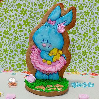 Easter cute bunny ❤🐰 - Cake by Gele's Cookies