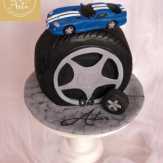 DODGE Viper GTS Cake