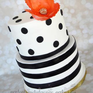 """Stefanie"" - Cake by Maria Cazarez Cakes and Sugar Art"