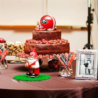 Georgia Bulldogs Groom's Cake