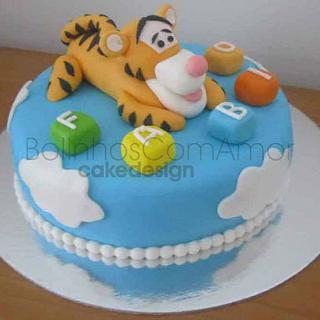 Tiger Too for the first birthday of a baby