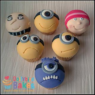 Despicable me cupakes
