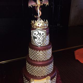 game of thrones team cake