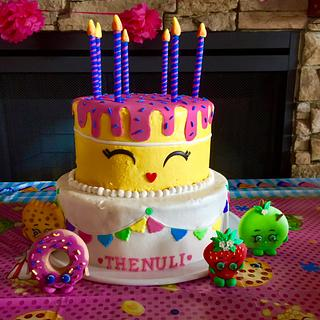 Shopkins cake - Cake by thenilse