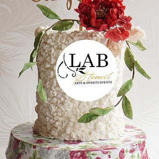Bas relief cake