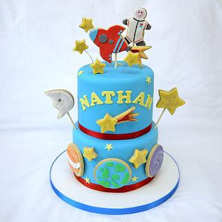 Christening Space Cake!