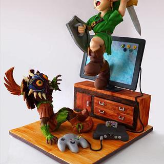 """Zelda Majora's Mask - """"Game on"""" Collab"""