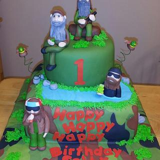 duck dynasty - Cake by Deborah
