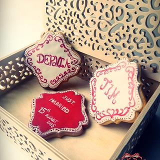 WEDDING COOKIES GIFTBOX