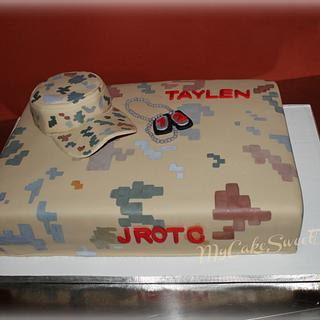 U.S.Army JROTC Birthday Cake