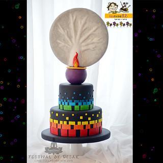 Festival of Vesak. Cake Collaboration