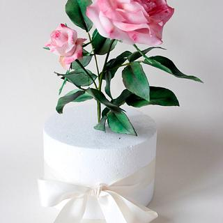 Sugar Roses - Cake by Kalina
