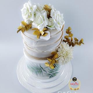 Summer Wedding Cake