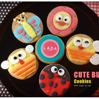 Little bugs cookies - Cake by Ladadesigns