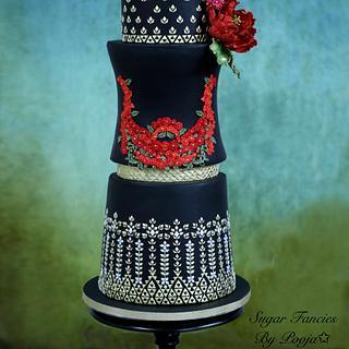 Wedding Dress cake - Cake by SugarfanciesbyPooja