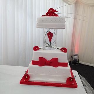 Carla Lilly wedding cake