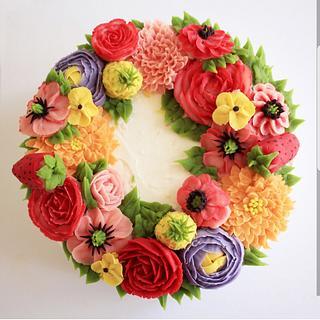 Beanpaste flowers bouquet